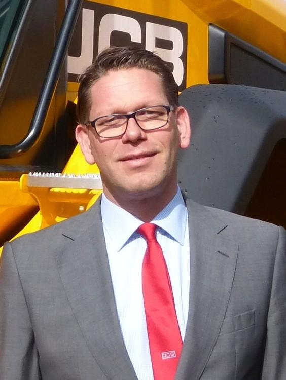 Stephan Nagelschmitz,Geschäftsführer für die JCB Vertrieb & Service GmbH