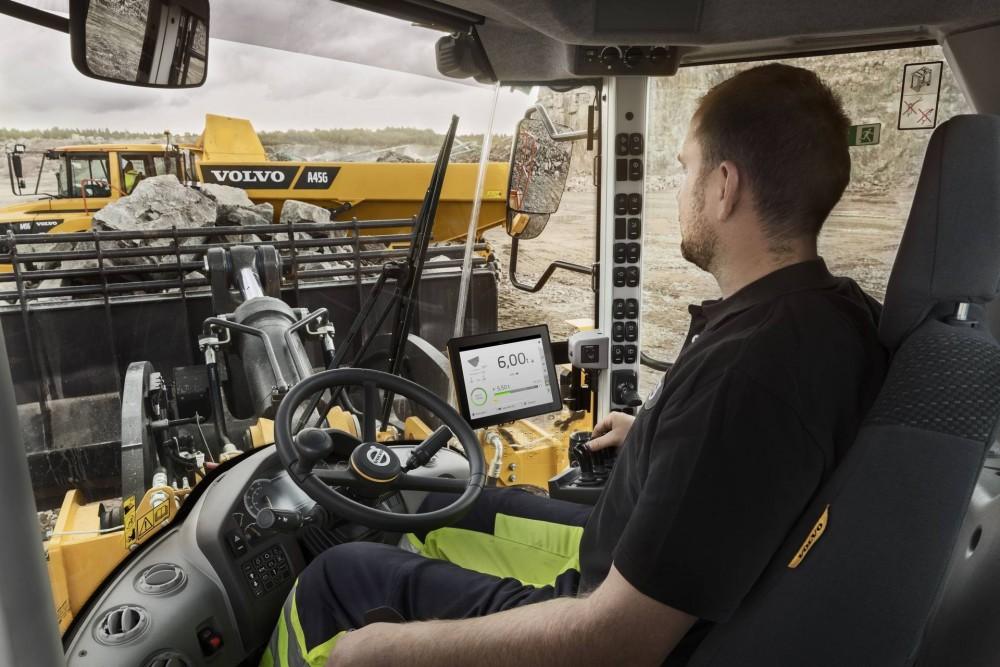 Upgrade für den Load Assist von Volvo CE