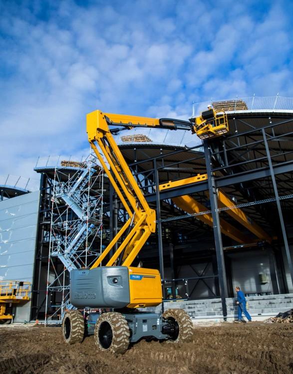 Haulotte HA20 LEgeländegängige Gelenk-Teleskop-Arbeitsbühne mit Elektroantrieb