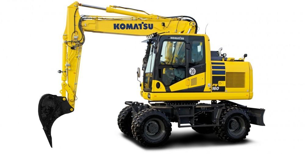 Komatsu PW160-11 Mobilbagger