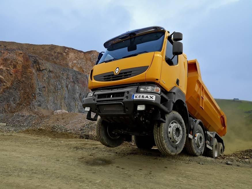 DerBaustellenprofi Renault Kerax hatte seine Markteinführung 1997