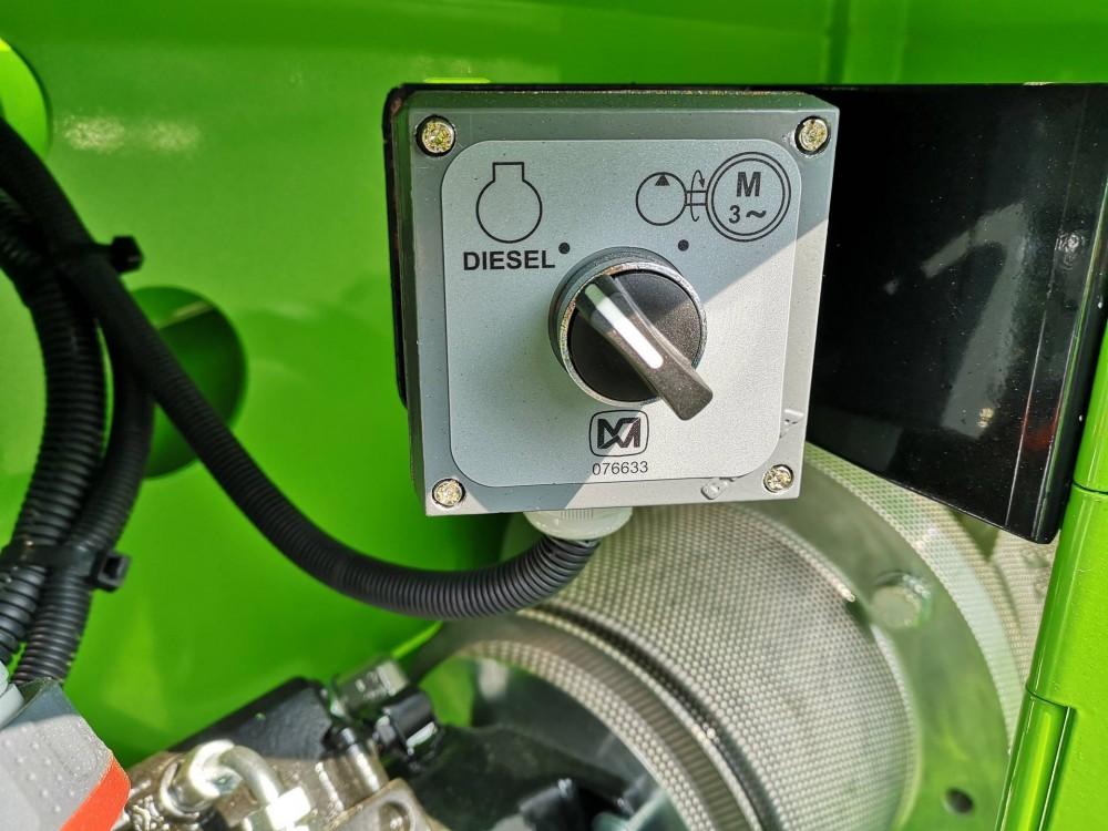 Umschalten Diesel / Elektrisch