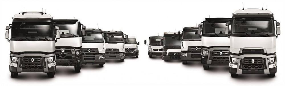 Seit 2013 führen die Baureihen D, C, K, und T die traditionsreiche Geschichte von Renault Trucks in die Zukunft