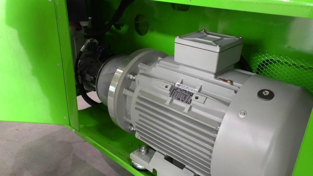 Der zusätzliche E-Motor für Merlo Rotoren