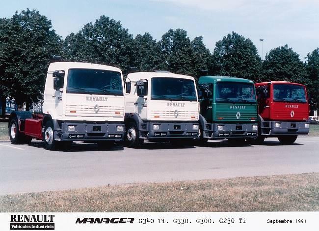 Renault G340 Ti, G330, G300, G230 Ti