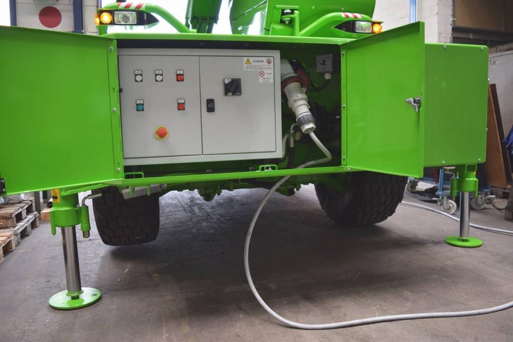 Front des Roto mit zusätzlichem E-Antrieb