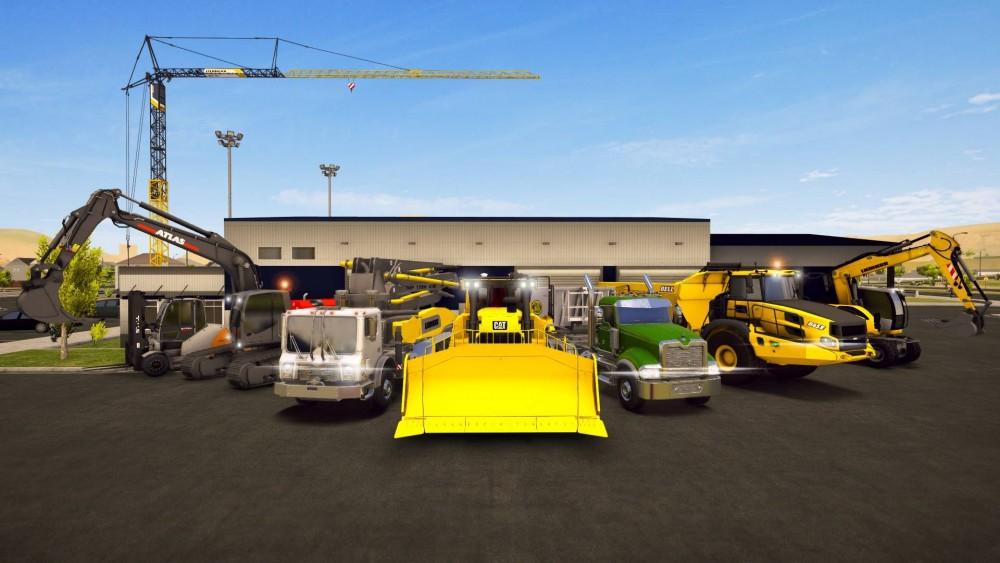 Bau-Simulator 2 US für Konsolen und PC