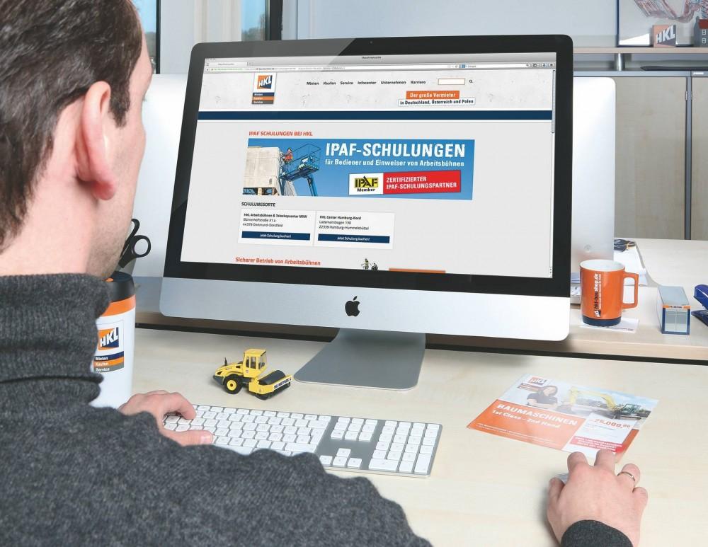 Alle IPAF-Schulungen können über die HKL Website gebucht werden