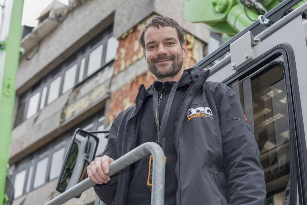 Heiko Striemke - Maschinenführer / SAUER Bau und Projektentwicklung GmbH