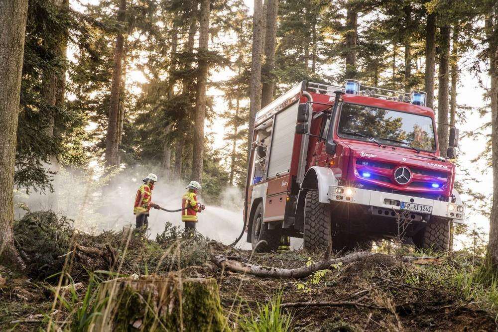 Mercedes-Benz Unimog U 5023 bei der Feuerwehr Kirchzarten
