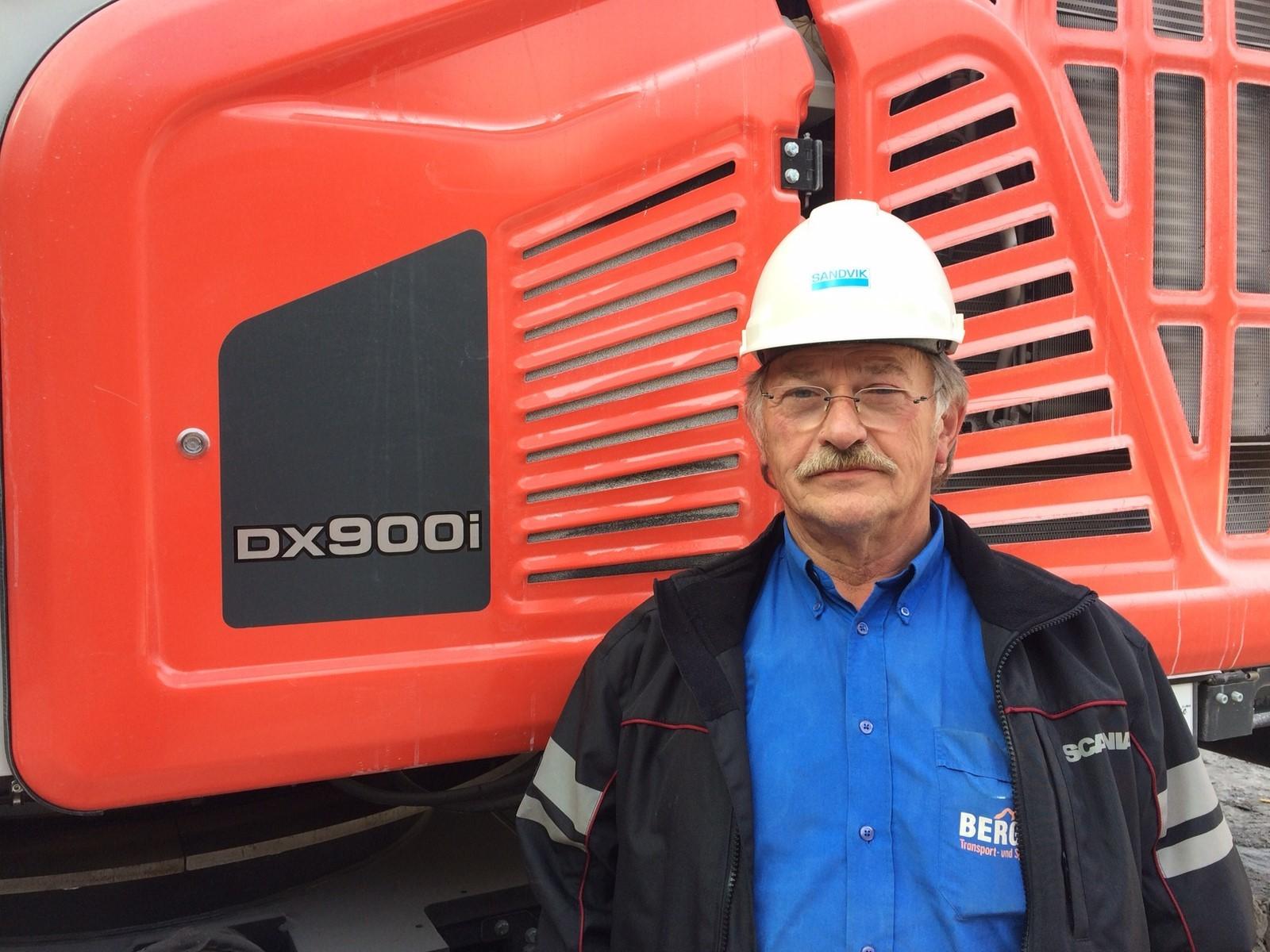 Sandvik Ranger DX900i - Sandvik - Baumaschinen & Bau Forum