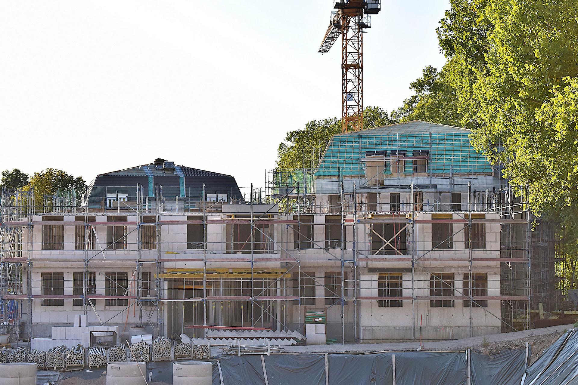 Neubau Wohnungen Im Dichterviertel Bochum(ehm.VEW,RWE