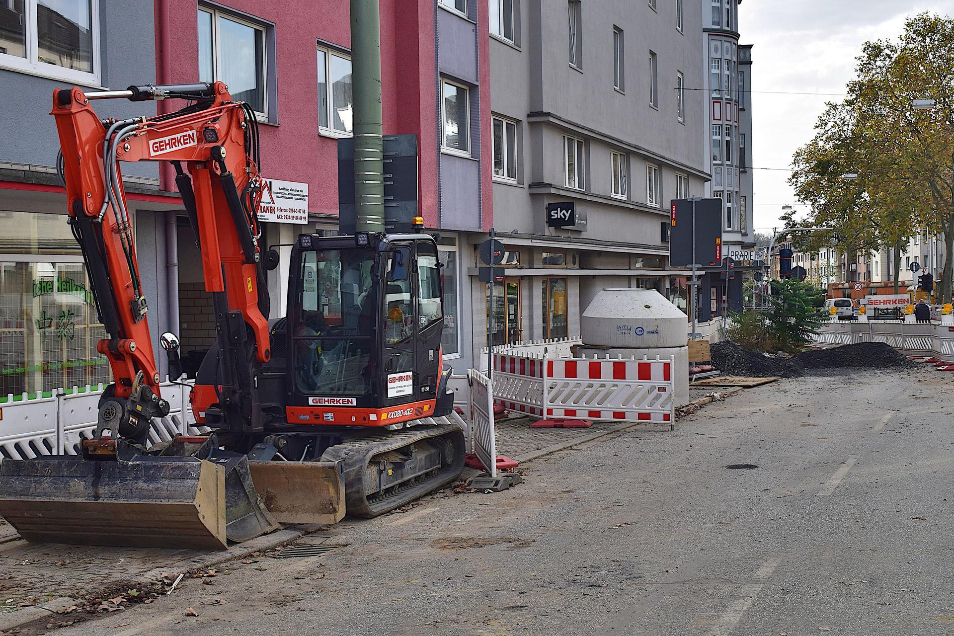 Baustellen Bochum